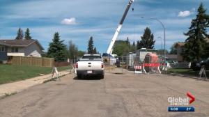 Councillors vote down idea of tax relief for some west Edmonton residents dealing with years of sewer rehabilitation work