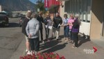 Keremeos area residents and businesses protest closure of town's only bank