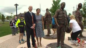 Monument unveiled, honours 3 RCMP officers fatally shot