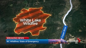 Williams Lake still on evacuation alert, watching the weather