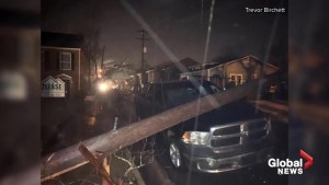 Tornado smashes into a commercial district in the small Mississippi city of Columbus
