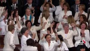 State of the Union: Democrats cheer as Trump praises women's success in the economy