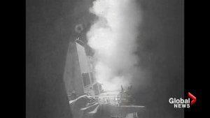 US military launches strikes at Yemen in retaliation after missile attacks on Navy ship