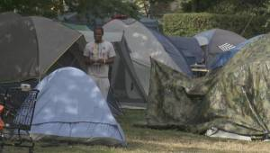 Oppenheimer Park tent city given two days to move