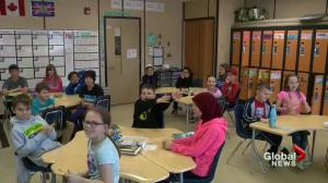 Newest class of SkyTrackers at James L. Alexander School