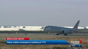 American Airlines flight makes emergency landing in Calgary