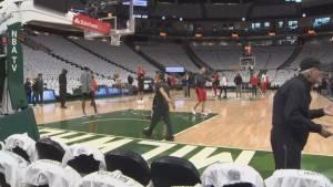Raptors vs. Bucks: Game 1