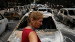 Wildfire sweeps through Greek resort town, killing 74