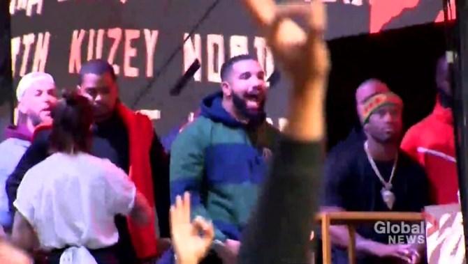 Drake continues Raptors push, this time seemingly trolling Bucks owner's daughter
