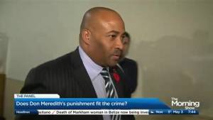 Does the senate's proposed punishment fit Don Meredith's crime?