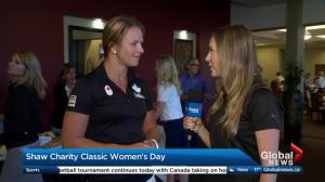 Erica Wiebe in Calgary for 2017 Shaw Charity Classic