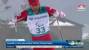 Canada's most decorated winter Paralympian