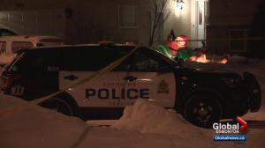 Homicide detectives investigate after man dies on north Edmonton sidewalk