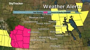 Special weather statement for smoke in eastern Saskatchewan