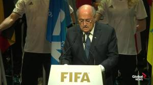 Blatter: I know people hold me ultimately responsible