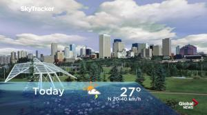 Edmonton early morning weather forecast: Wednesday, July 18, 2018