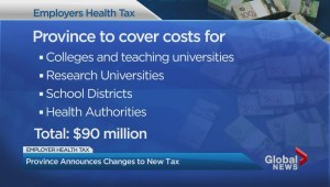 NDP government backtracks on part of employer health tax