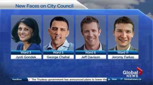 The new faces of Calgary city council after 2017 election