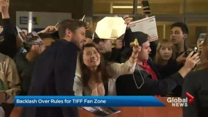 Rules taking the fun out of TIFF fan zones