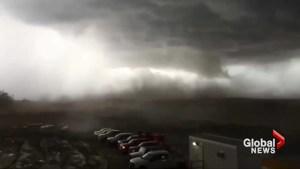Powerful storm hits Estevan, Sask. with high winds, hail