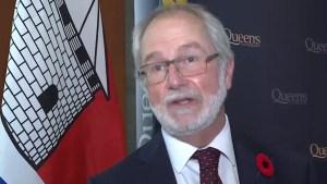 Queen's University name new principal