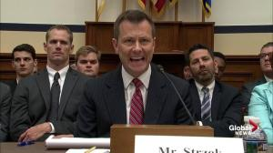 FBI agent Peter Strzok offers passionate defence of anti-Trump text exchanges
