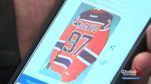 Police warn about scam involving fake Connor McDavid autographs