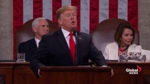 State of the Union: Trump calls NAFTA 'historic blunder', praises USMCA deal with Canada, Mexico
