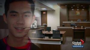 Matthew de Grood apologizes to families of victims at annual hearing (02:27)