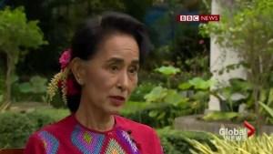 Aung San Suu Kyi confident democratic change has come to Myanmar