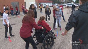 Cochrane school honoured with Special Olympics award: 'Everyone helps each other'