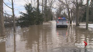 Risk of flooding in Laval due to warm weather