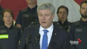 Harper announces funding to fight terrorism