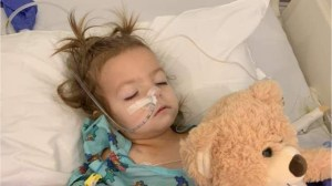 Two-year-old girl diagnosed with ovarian cancer