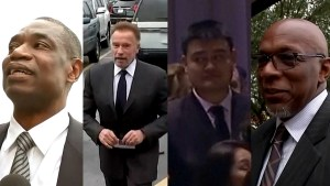 Bush funeral: NBA greats, Arnold Schwarzenegger attend Texas memorial