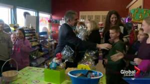 Prentice makes stop in High River