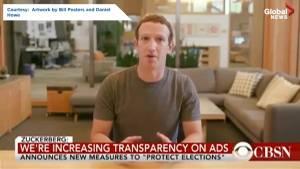 Artists create Mark Zuckerberg 'deepfake'