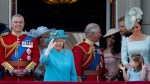Royal Family gathers for annual Trooping of Colour to mark Queen Elizabeth's 92nd birthday
