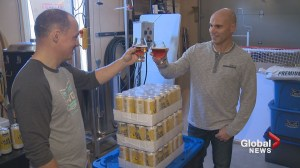 New craft beer takes flight for pair of N.B. air traffic controllers