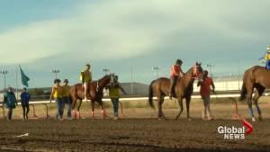 Montana family wins Lethbridge Indian Relay Races