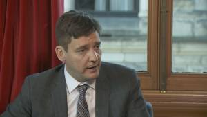 B.C. Attorney General David Eby says there is a 'real gap' to deal with money laundering crimes