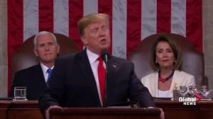 State of the Union: Trump boasts economic boom, job creation, tax credits