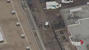 Edmonton police investigate suspicious death downtown