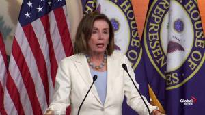 Pelosi calls Trump's remarks 'inappropriate' and 'disgusting'