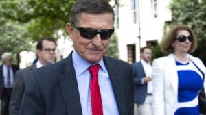 Michael Flynn silent as he leaves court