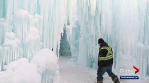 Ice castle ready to open in Edmonton for a third year