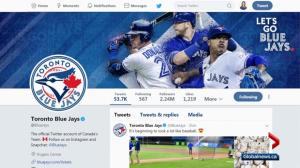 As Blue Jays' new season begins, Twitter Canada looks into how baseball fans use the social media platform