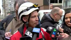 Toronto crane rescuer credits negotiator for keeping mood calm like 'late night talk show host'