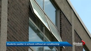 School kids sweltering in non-air conditioned classrooms in the GTA