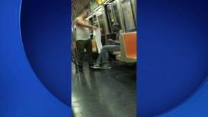 Good Samaritan caught on camera giving homeless man his shirt